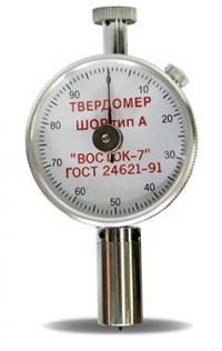 ТВР-А твердомер Шора (дюрометр) тип А с аналоговым индикатором